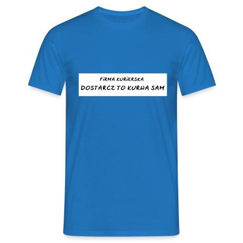 firma kurierska tyl - Koszulka męska