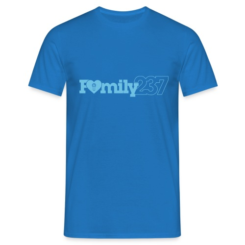 Family237 Blue - Men's T-Shirt