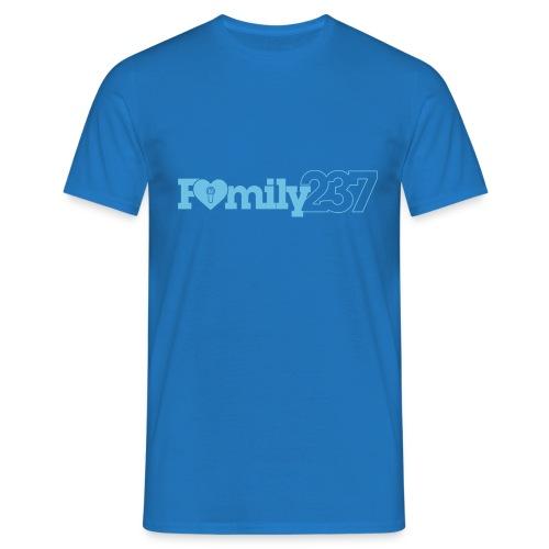 Family237 Blue - Men's T-Shirt
