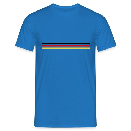 Trait Germany version 1 grand - T-shirt Homme
