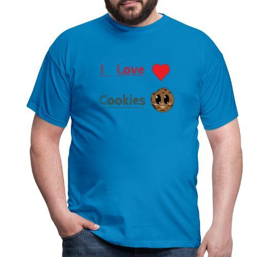 I Love Cookies - Männer T-Shirt
