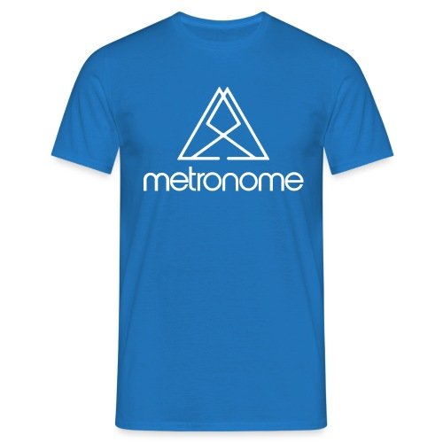metronomelogoandtriangle - Men's T-Shirt