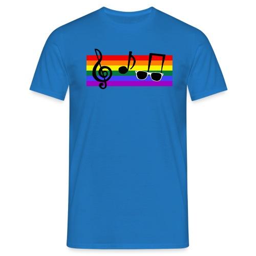 Rainbowy - Männer T-Shirt