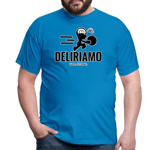 DELIRIAMO CLOTHING BRAINBOMB - Maglietta da uomo