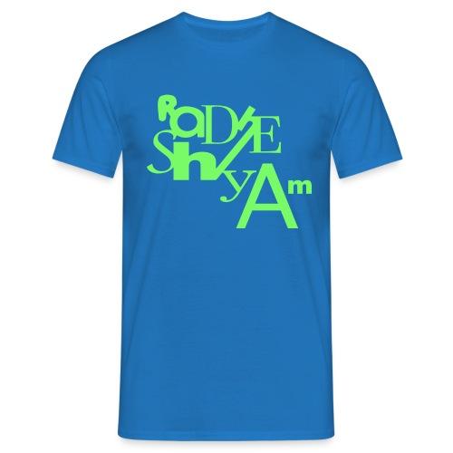 Blu Lines - Men's T-Shirt