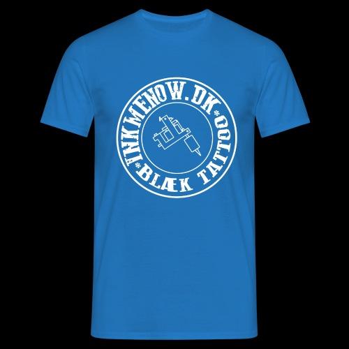logo hvid png - Herre-T-shirt