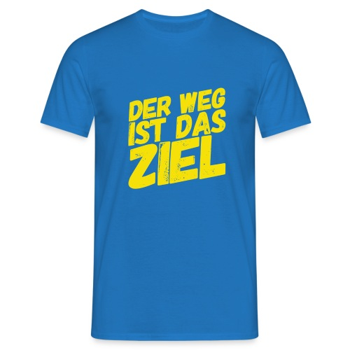 Der Weg ist das Ziel - Männer T-Shirt