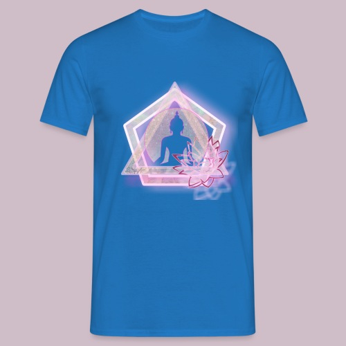 Triangle Lotus - T-shirt herr