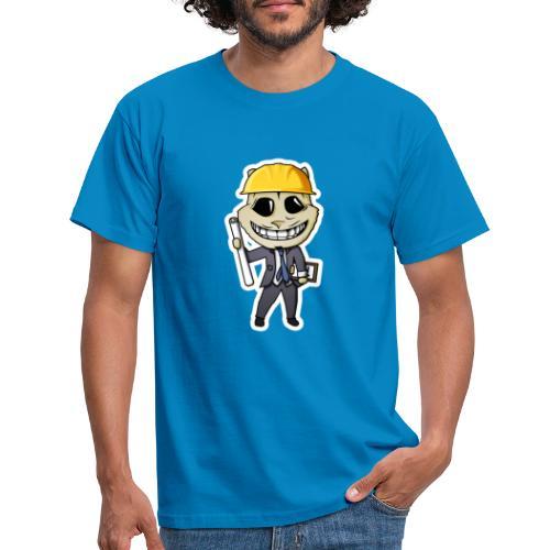 engn White background - Mannen T-shirt