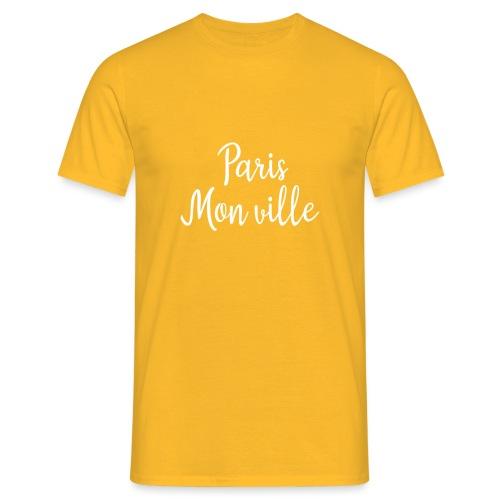 paris mon ville - T-shirt Homme