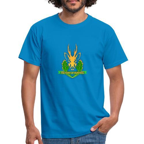 Factory of Hunting - alles für deine Jagd - Männer T-Shirt