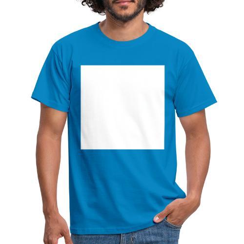 barra bianca - Maglietta da uomo