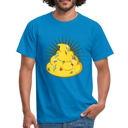 Golden Turd - Men's T-Shirt