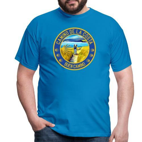 Camino de la Costa - Buen Camino - Männer T-Shirt