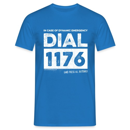 DIAL1176 white - T-shirt Homme