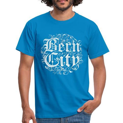 Berncity Typo 01 white edition - Männer T-Shirt