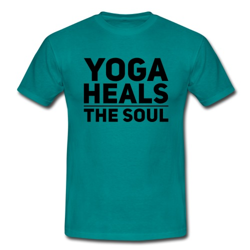 yoga - Mannen T-shirt