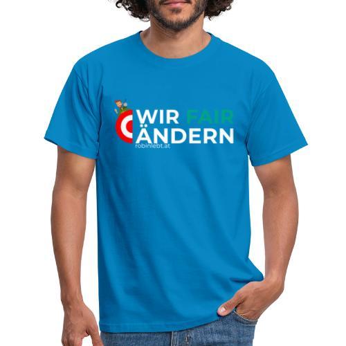 Wir Fairändern Österreich (Flagge) - Männer T-Shirt