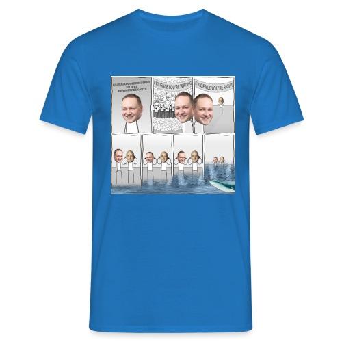 Klimaforandringer i DF - Herre-T-shirt