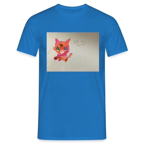 Little pet shop fox cat - Men's T-Shirt