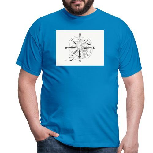 Kompass des Lebens - Männer T-Shirt