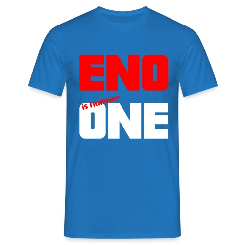eno is number one - retro / punainen - Miesten t-paita