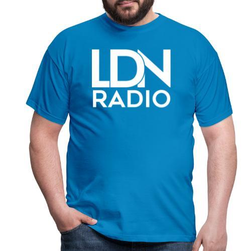 LDN Radio Logo white - Men's T-Shirt