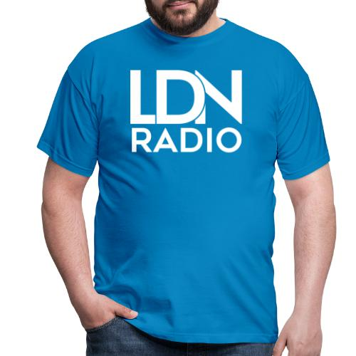 LDN Radio Logo white - Men's T-Shirt