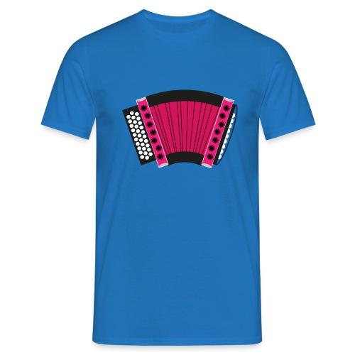 Schwyzerörgeli pink - Männer T-Shirt