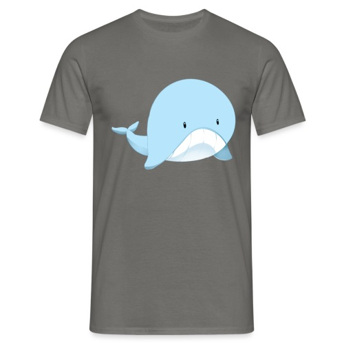 Whale - Maglietta da uomo