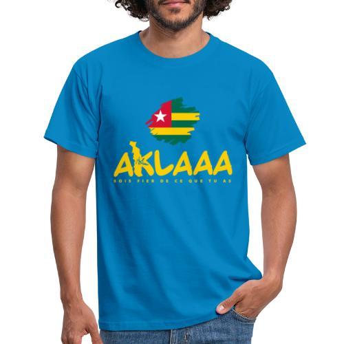 Aklaaa - Togo - Jaune - T-shirt Homme