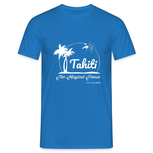 SUNSET Tahiti the magical place - T-shirt Homme
