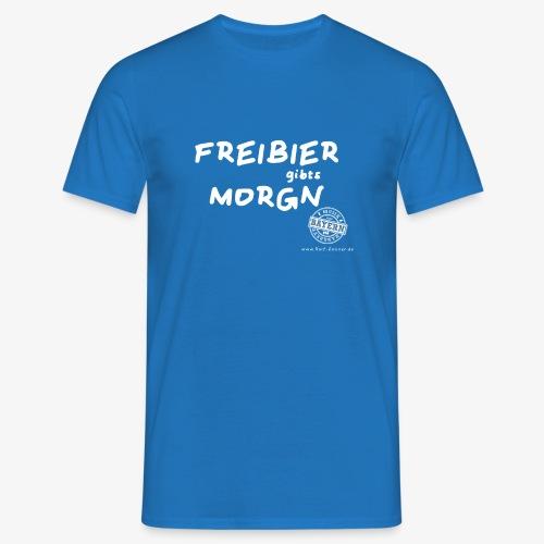 Freibier - Männer T-Shirt