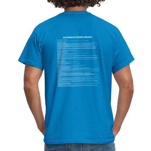 DSGVO für unterwegs - Männer T-Shirt