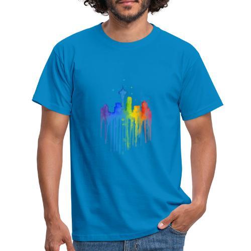 Ville artistique - T-shirt Homme
