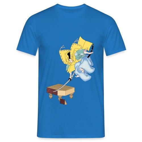 Go Samurai png - Men's T-Shirt