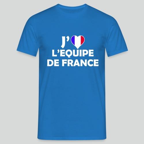 J'aime L'équipe de France (B) - T-shirt Homme