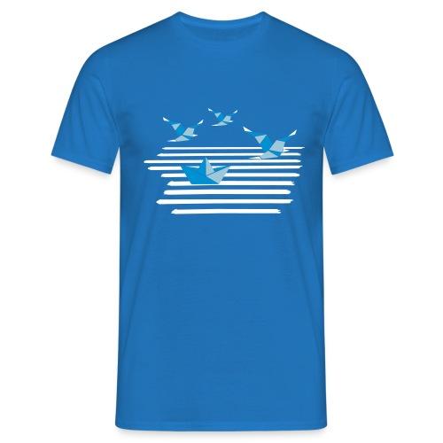 Möwenboot 3 - Männer T-Shirt