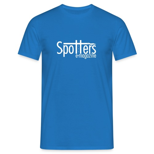 Spotters_logoBianco - Maglietta da uomo