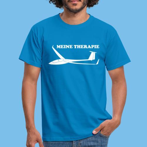 therapie Segelflieger Segelflugzeug Tshirt Geschen - Männer T-Shirt