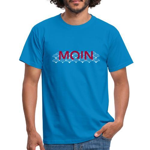 Moin Wellen - Männer T-Shirt