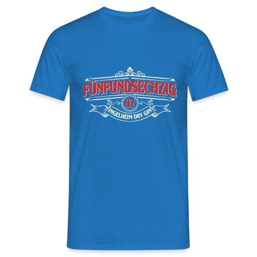 Logo rot weiss - Männer T-Shirt