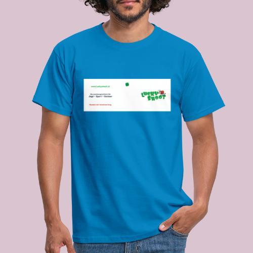 2020 06 26 Tasse Luckyshoot 80x215 print - Männer T-Shirt