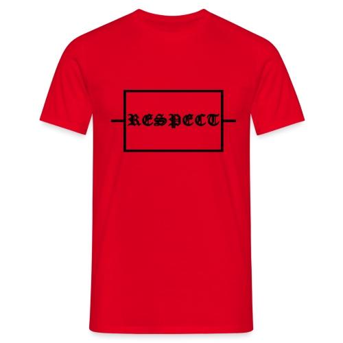 Widerstand für RESPECT - Männer T-Shirt