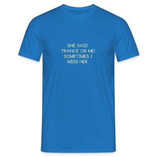 mewhite - Herre-T-shirt