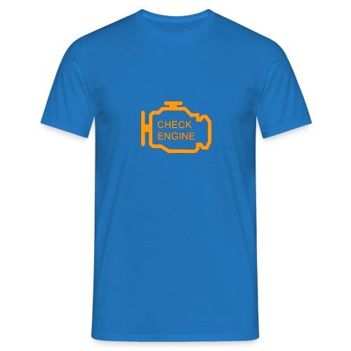 Check Engine Light - Mannen T-shirt