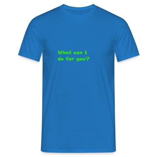 Hilfe - Männer T-Shirt