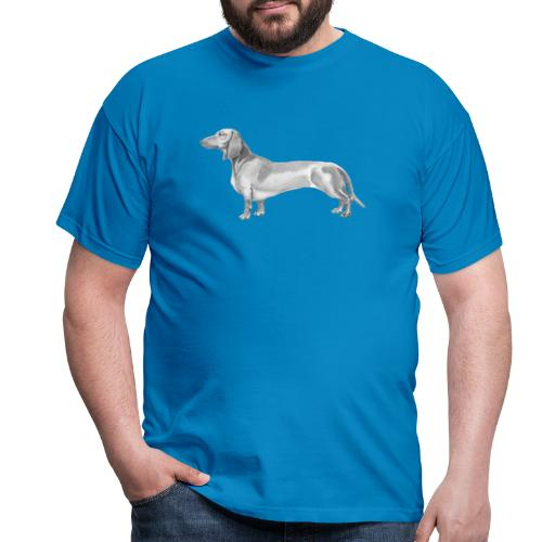 Dachshund smooth haired - Herre-T-shirt