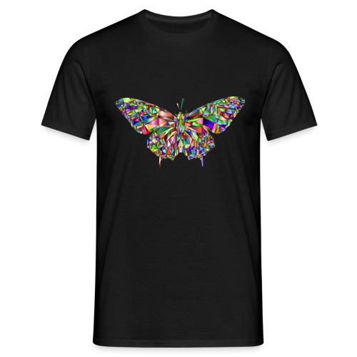 Geflogener Schmetterling - Männer T-Shirt
