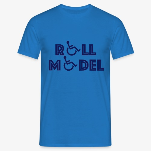 Rolstoel model - Mannen T-shirt